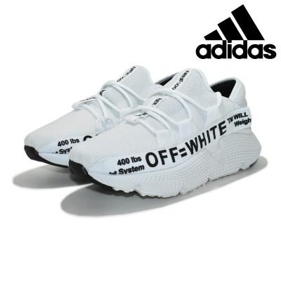 Tênis Masculino Adidas Off-White Branco-Preto