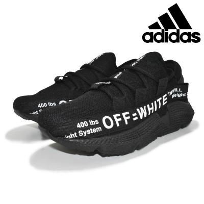 Tênis Masculino Adidas Off-White Preto-Preto