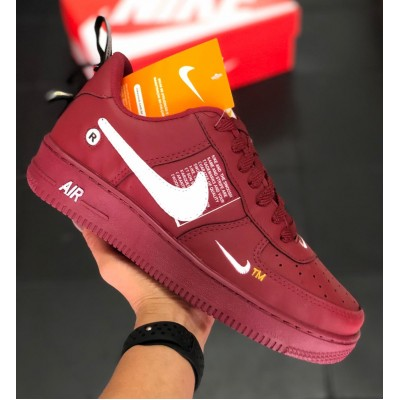 Air Force 1 vinho