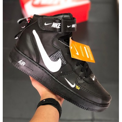 Botinha Nike Air Force 1 Preto